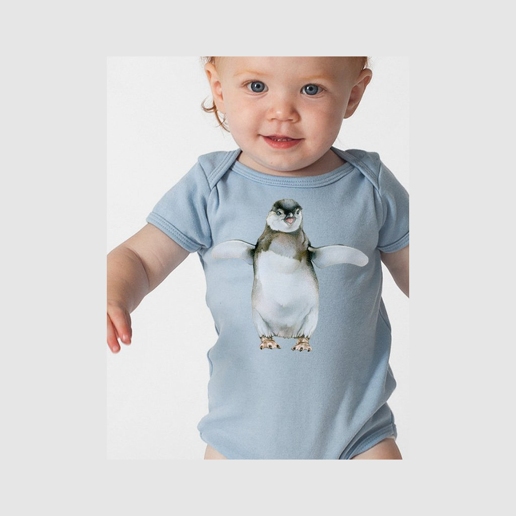 [160-T] African Penguin Chick Tee
