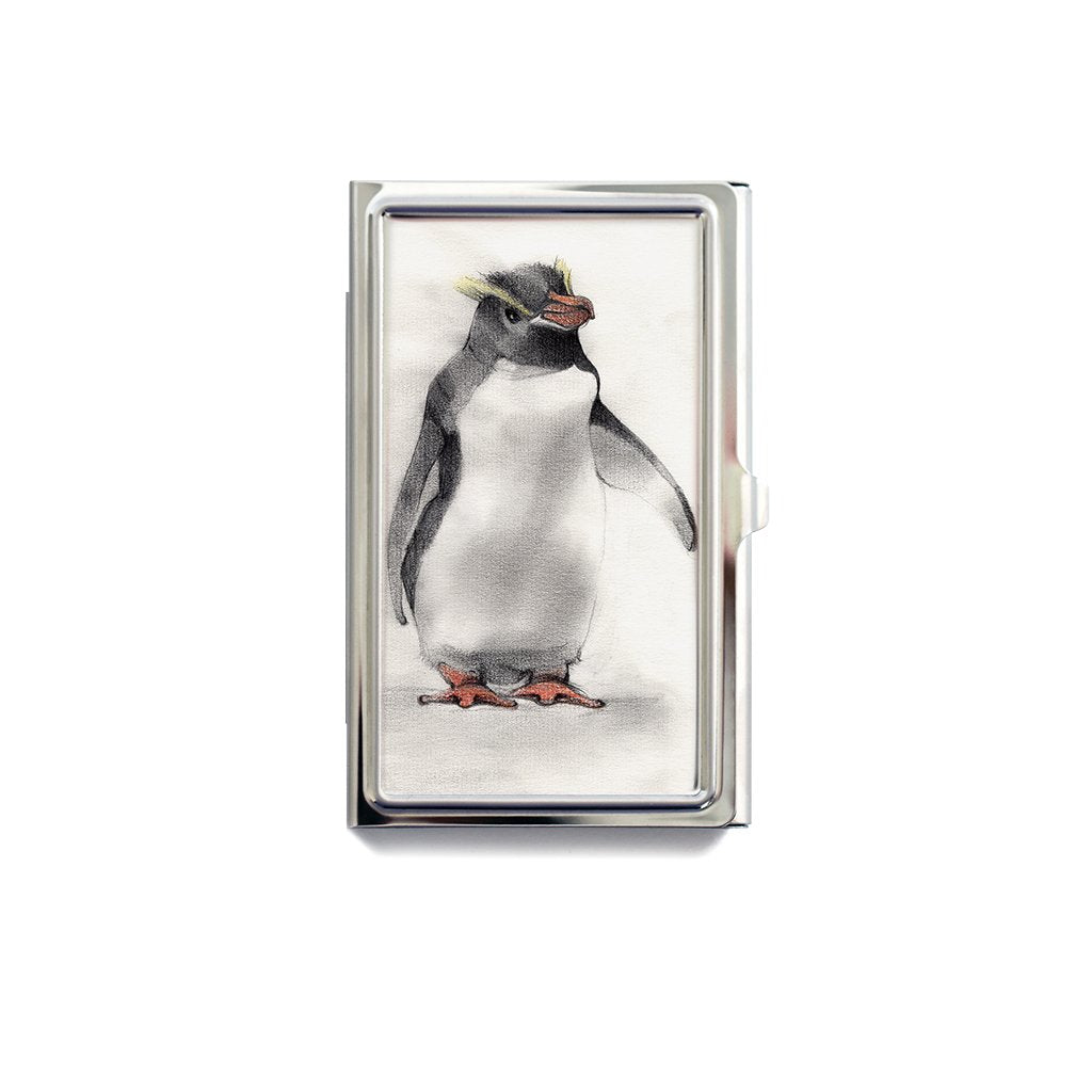 [173-CC] Erect Crested Penguin Card Case