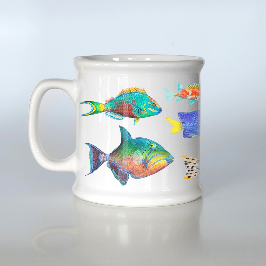 [200-AM] Fish of the Atlantic American Mug