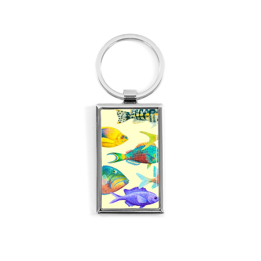 [200-KR] Fish of the Atlantic Key Ring
