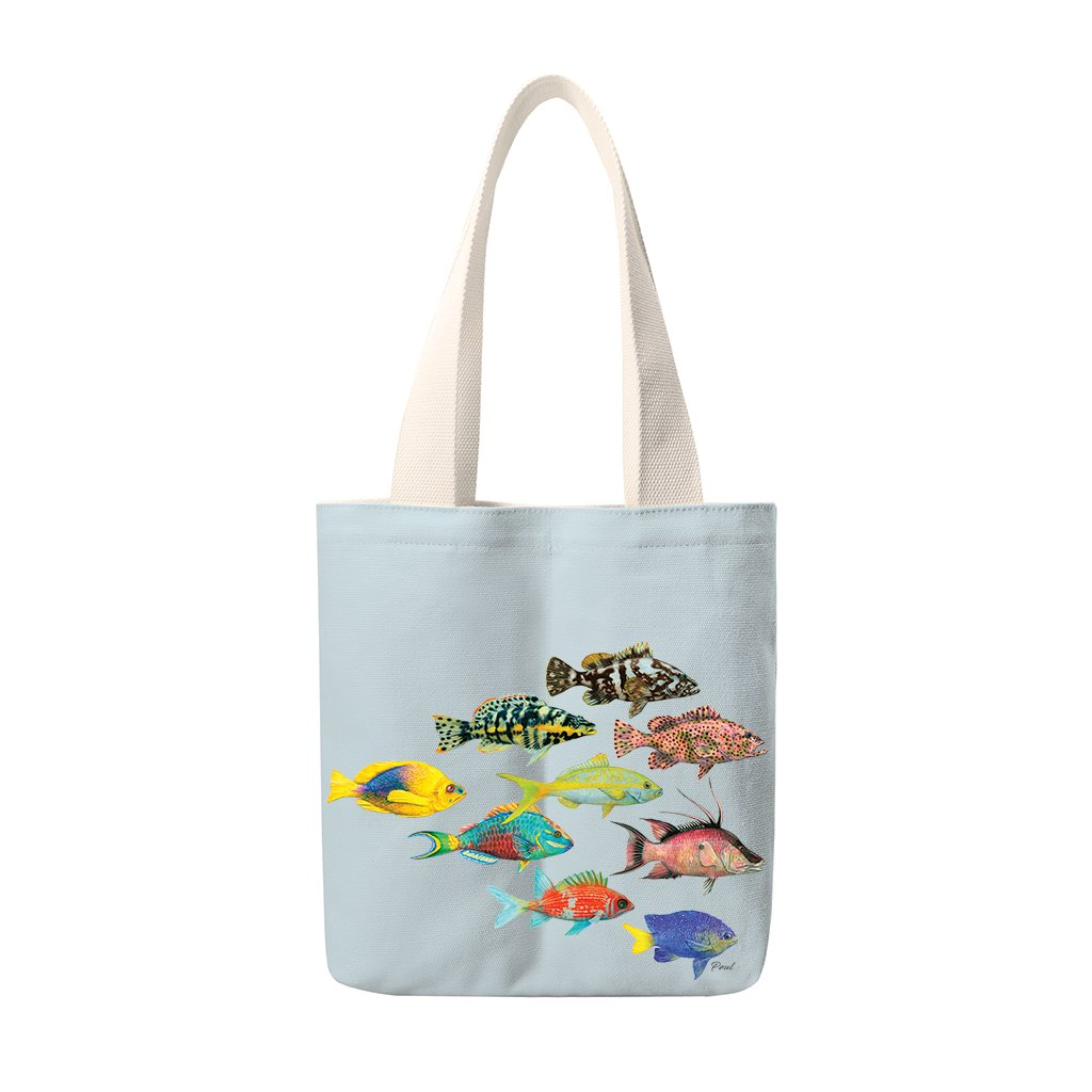 [TUS-200] Atlantic Fish Totes