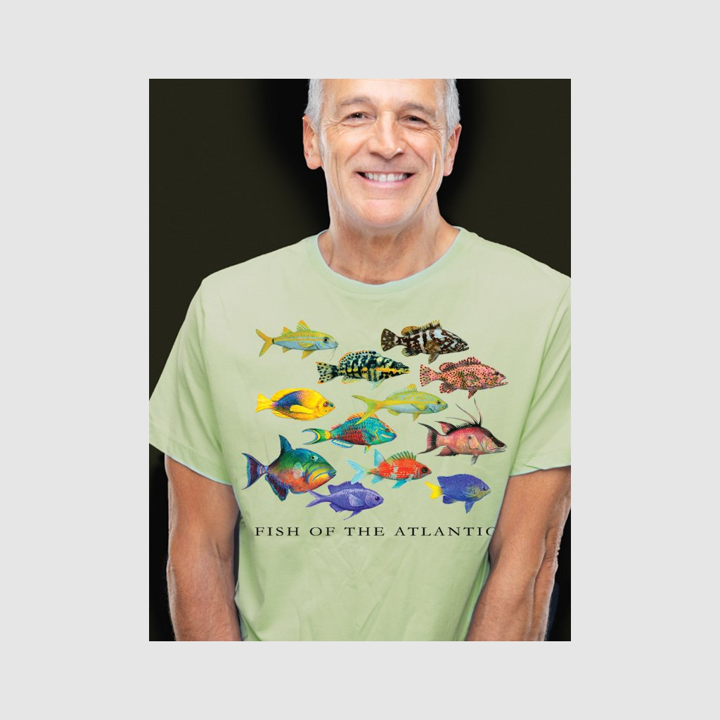 [200-T] Fish of the Atlantic Tee