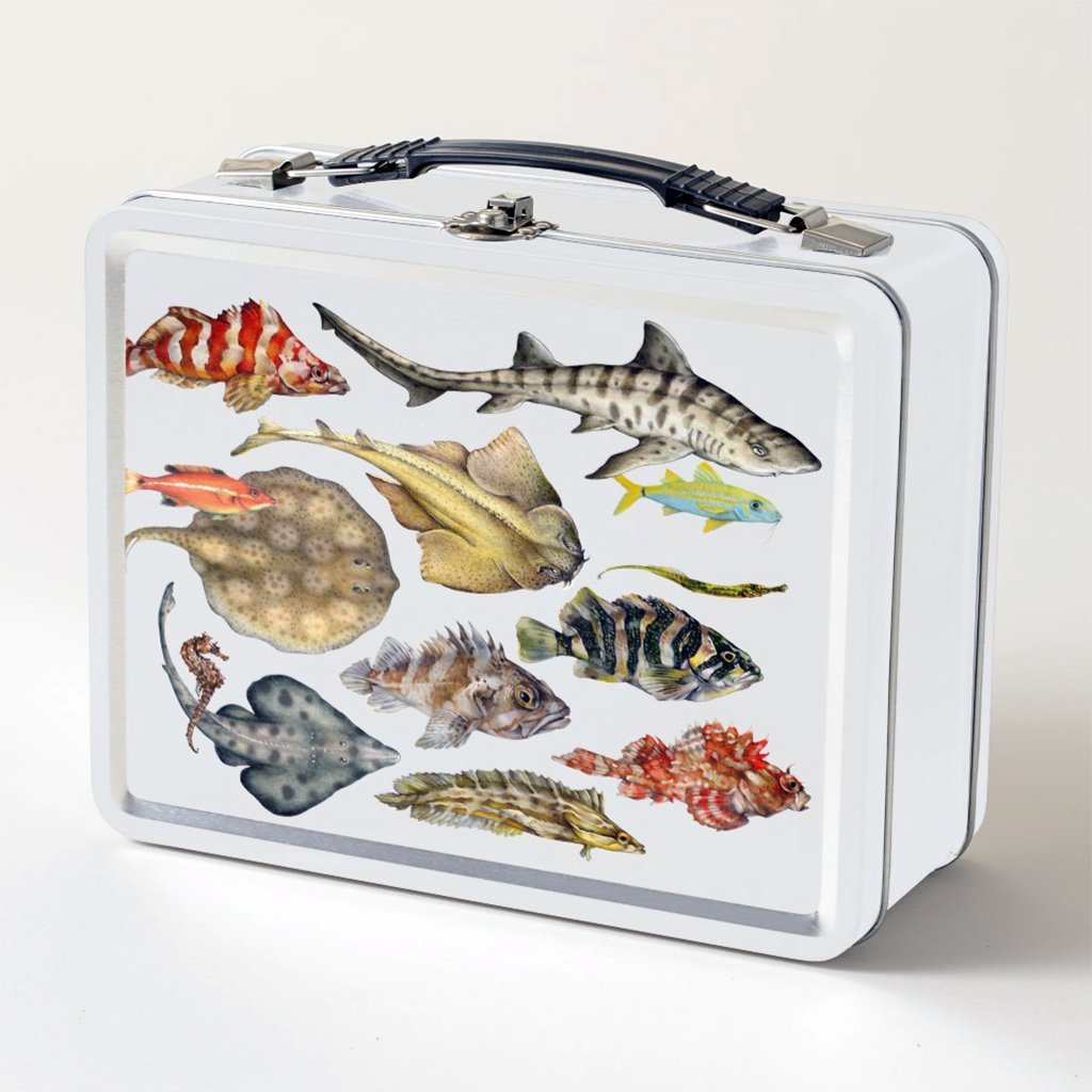 [210-LBT] Fish of the Pacific Lunch Box