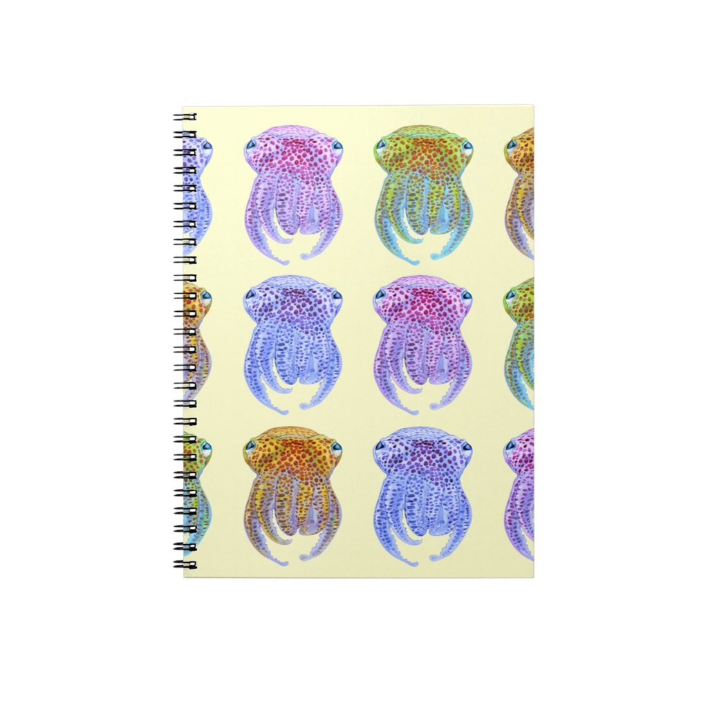 [356-J] Hawaiian Bobtail Squid Journal