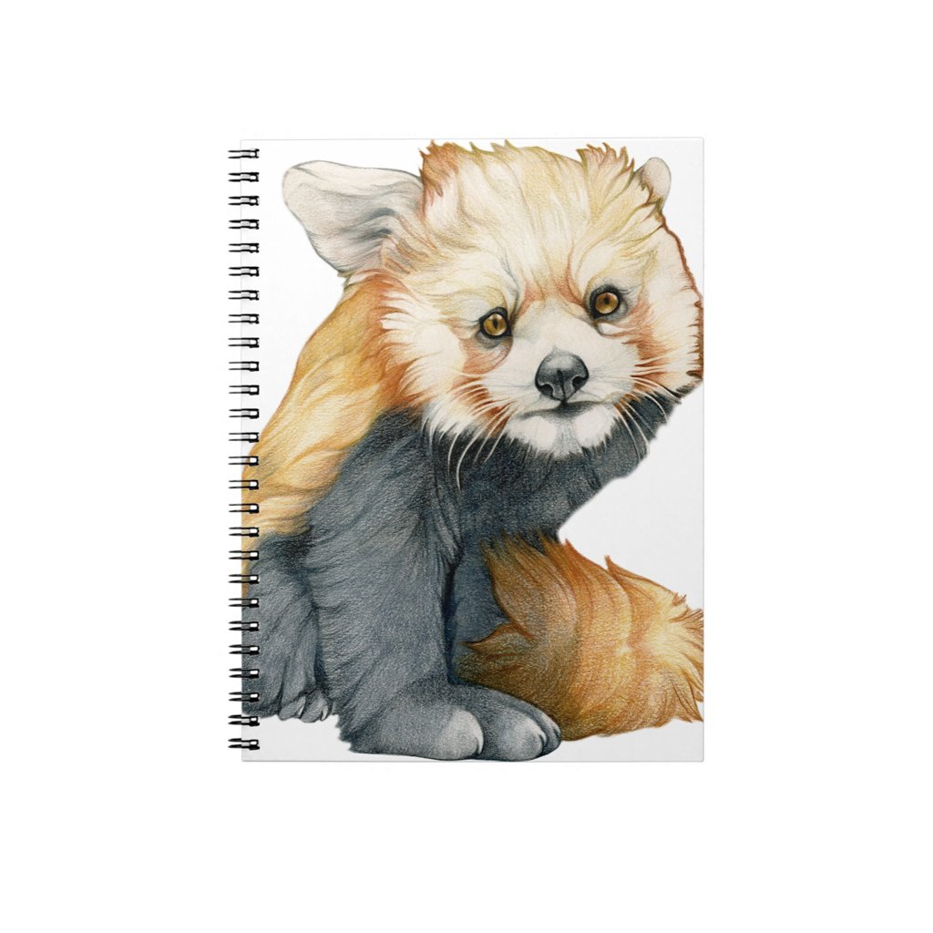 [412-J] Red Panda Cub Journal