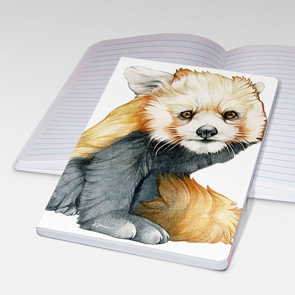 [412-STJ] Red Panda Notebooks
