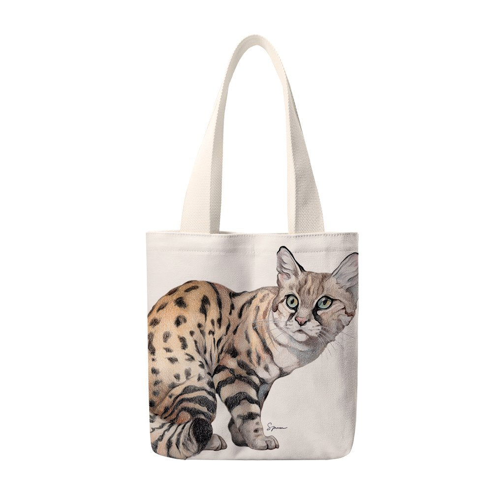 [TUS-490] Blackfooted Cat Totes