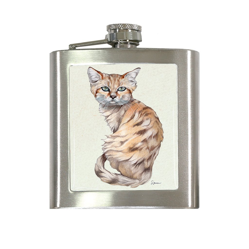 [FL-492] Sand Cat Flask