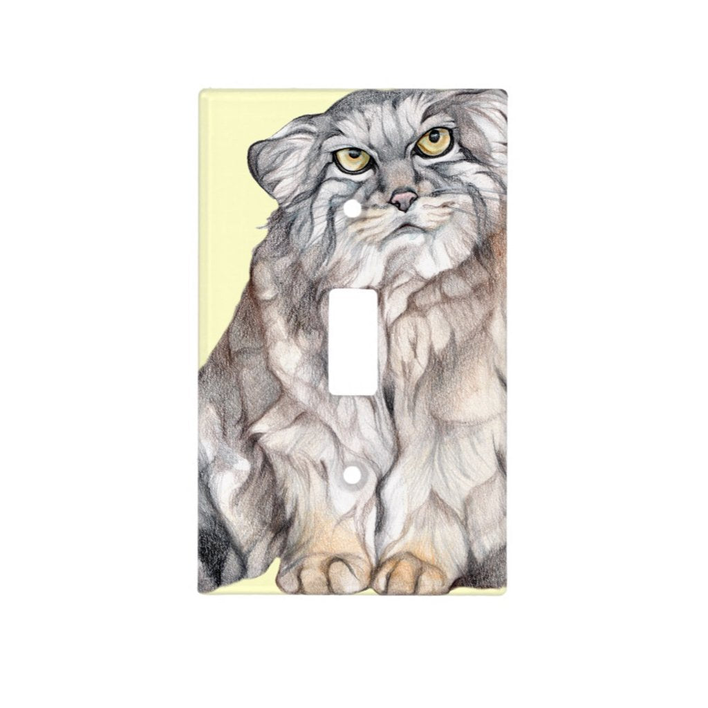 [493-SC] Pallas Cat Light Switch Cover