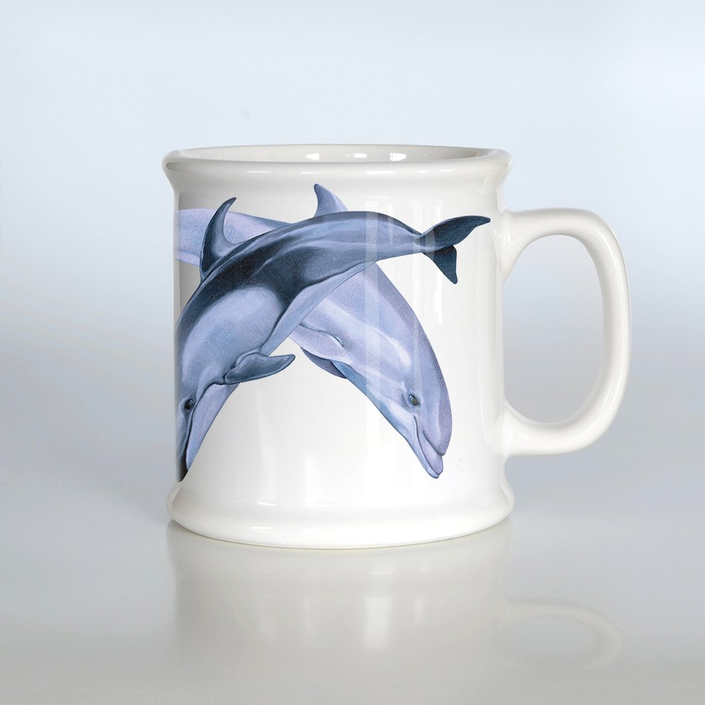 [501-AM] Pacific Dolphin Duo American Mug