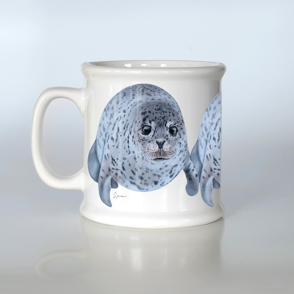 [522-AM] Spotted Seal American Mug