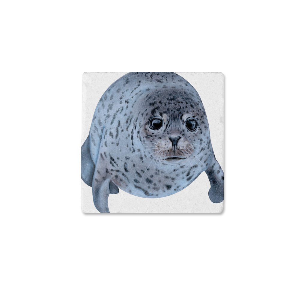 [CST-522] Spotted Seal Coasters