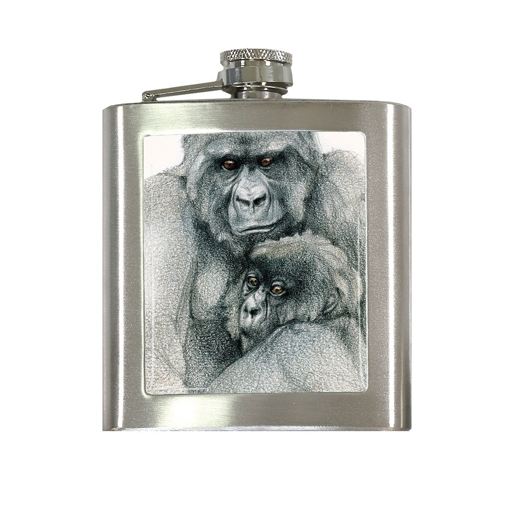 [FL-577] Mountain Gorilla Duo Flask