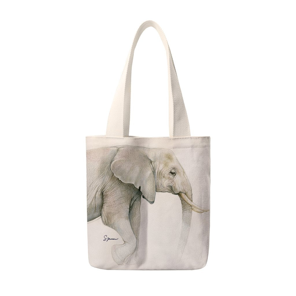 [TUS-600] African Elephant Sketch Totes