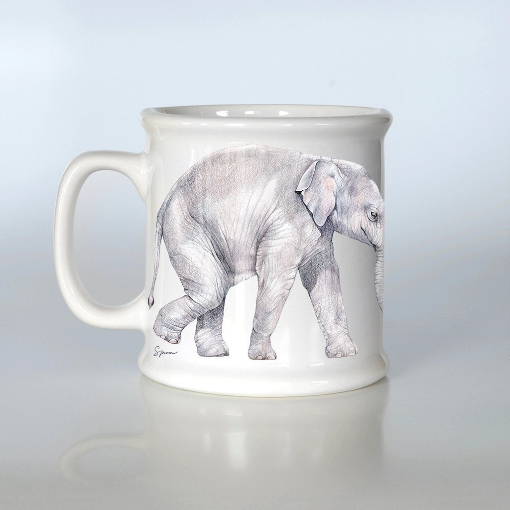 [606-AM] Asian Elephant American Mug