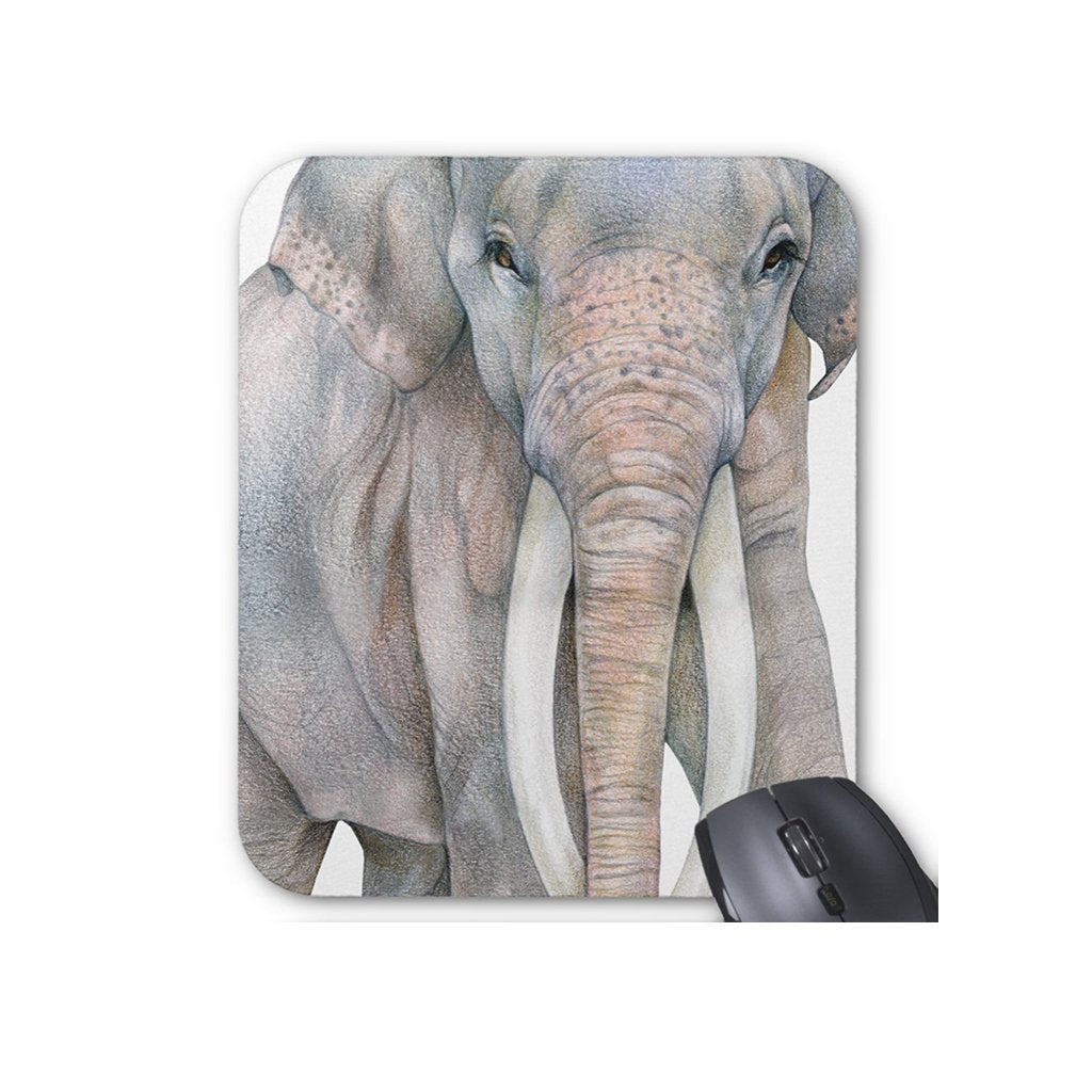 [608-MP] Asian Elephant Bull Mousepad