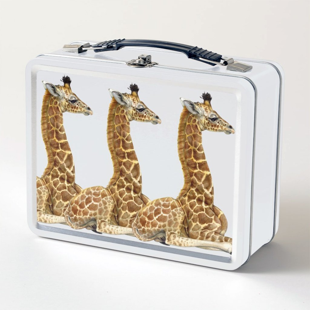 [651-LBT] Giraffe Calf Lunch Box