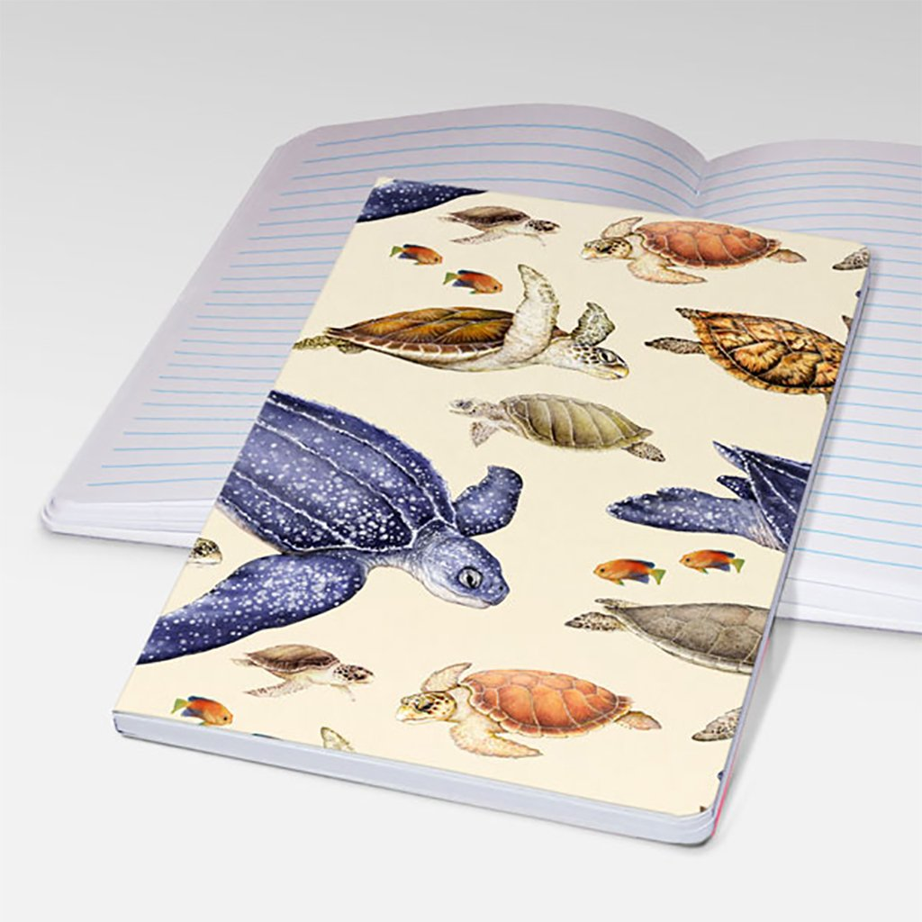 [700P-1-STJ] Sea Turtles World Notebooks