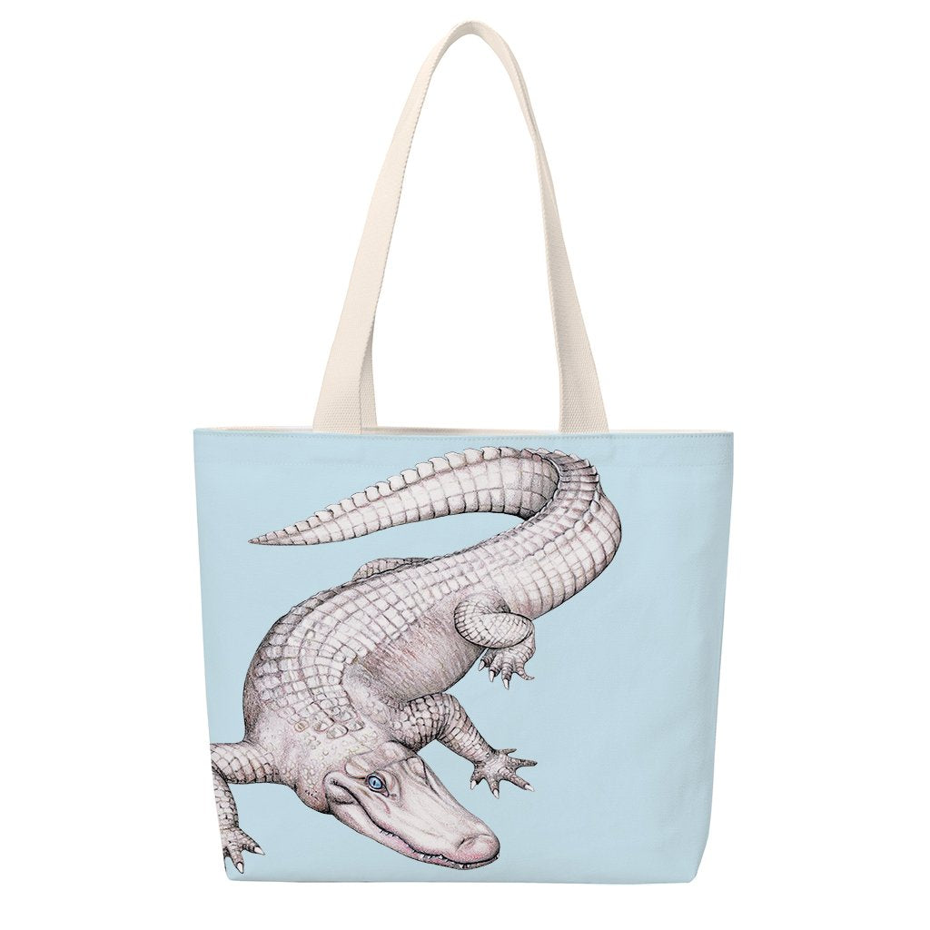 [TUS-702] American White Alligator Totes