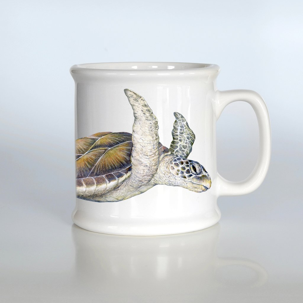 [732-AM] Green Sea Turtles American Mug