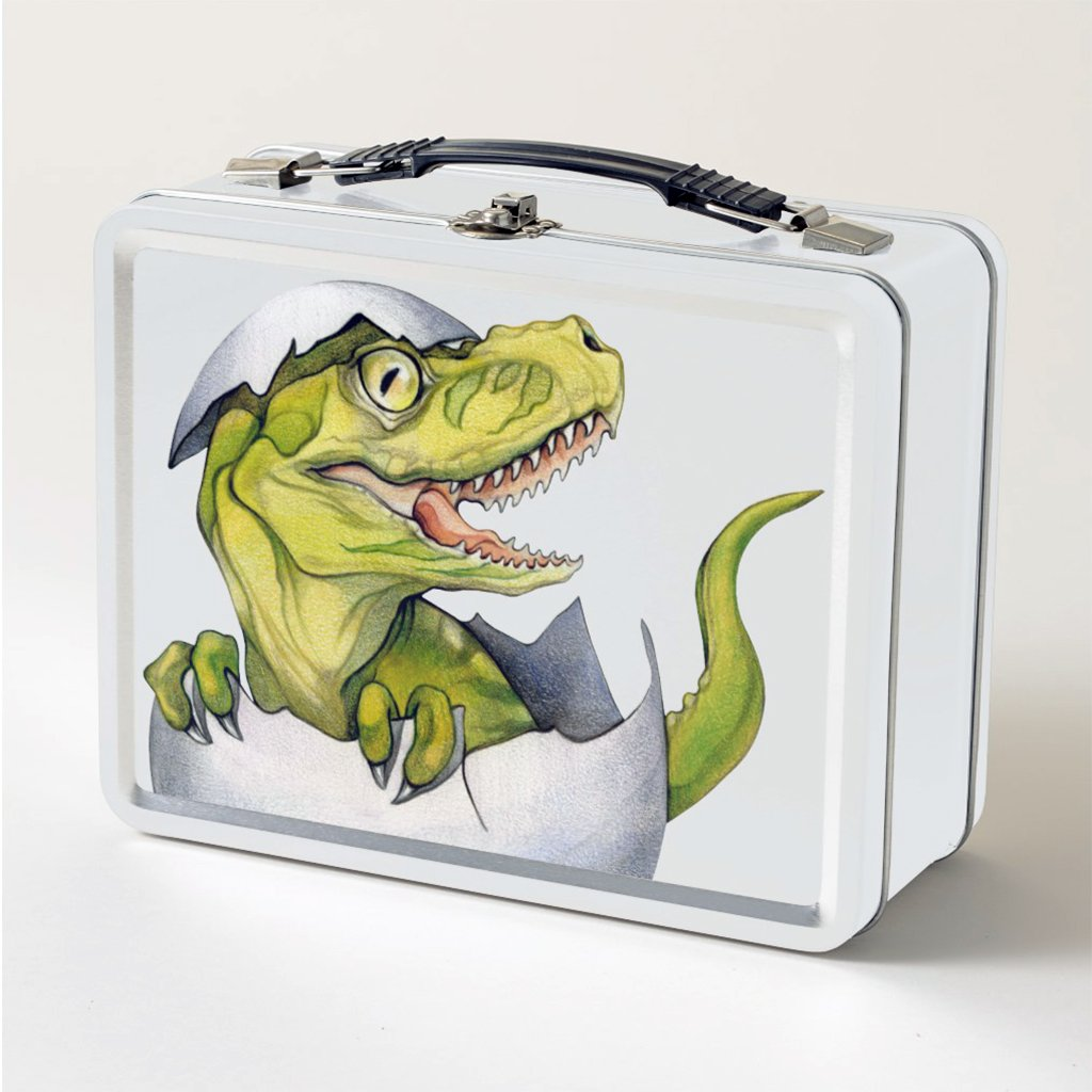 [751-LBT] T-Rex Hatchling Lunch Box