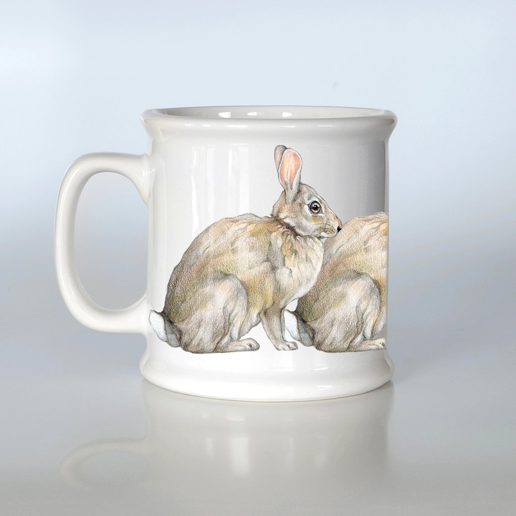 [800-AM] Eastern Cottontail American Mug