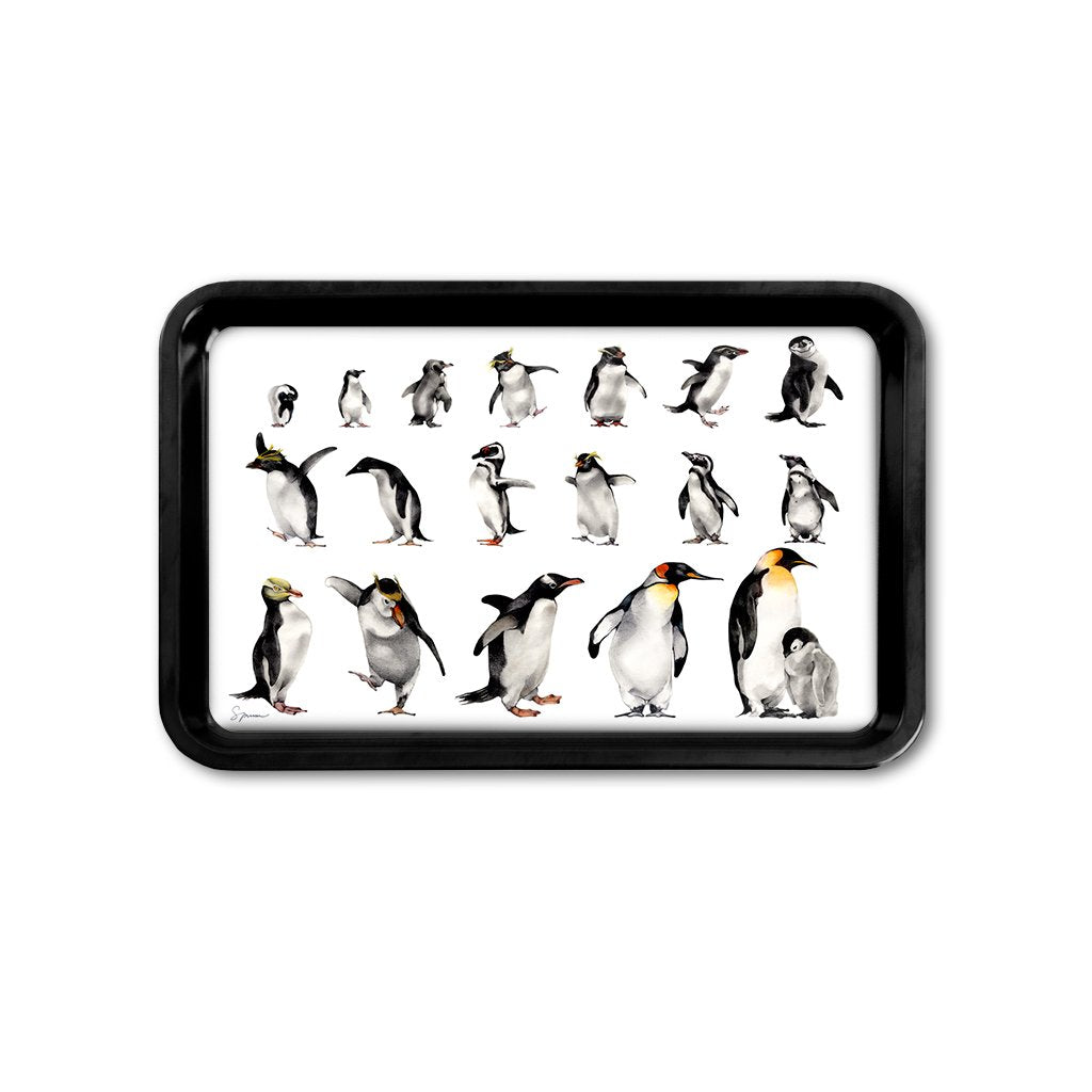 [TRYR-072] Penguins of the World Retro Tray