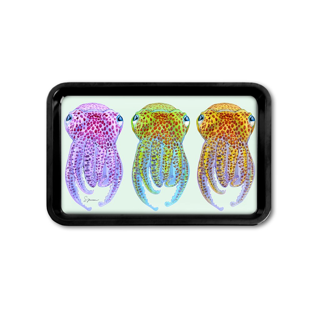 [TRYR-356] Hawaiian Bobtail Squid Retro Tray