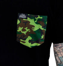 Load image into Gallery viewer, Camo Pocket Tee