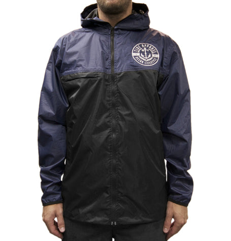 Navy/Black Spray Jacket