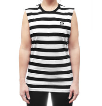 Load image into Gallery viewer, Stripe Muscle Tee