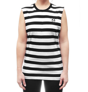 Stripe Muscle Tee