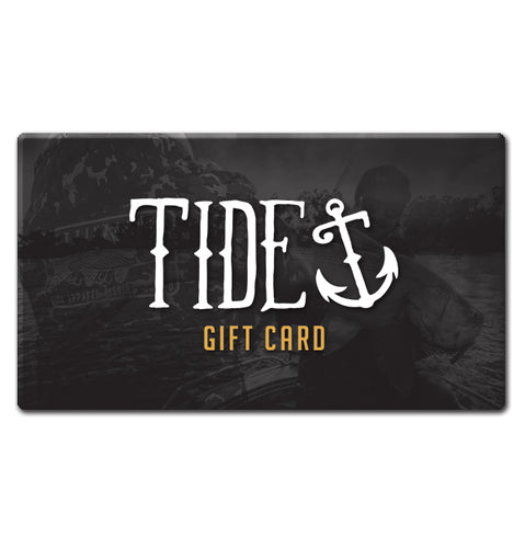 Tide Apparel Gift Cards