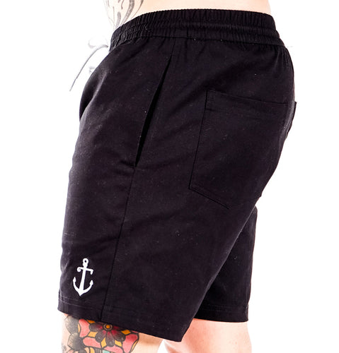 Black Angler Shorts