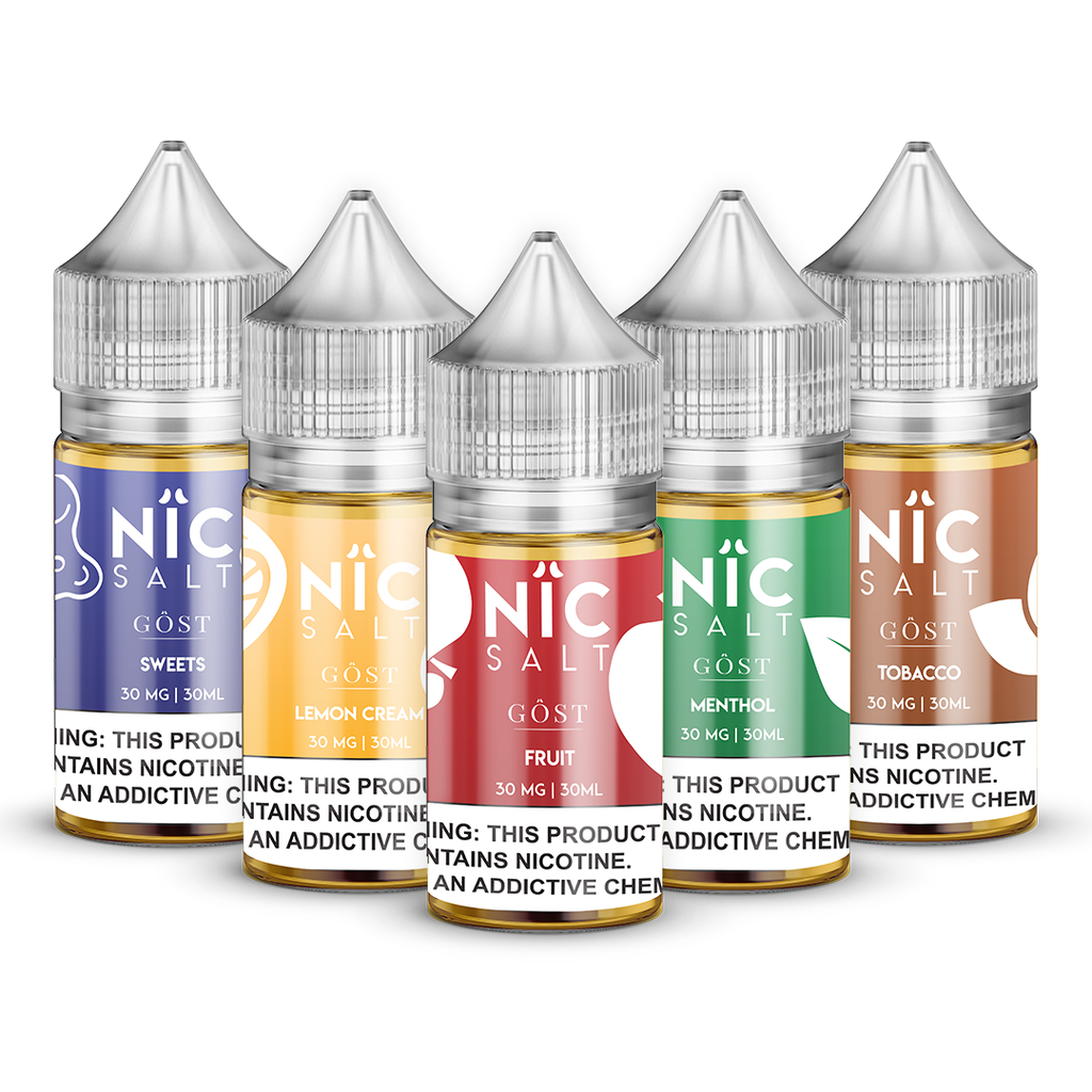 NIC Salt Sample Pack | WHOLESALE