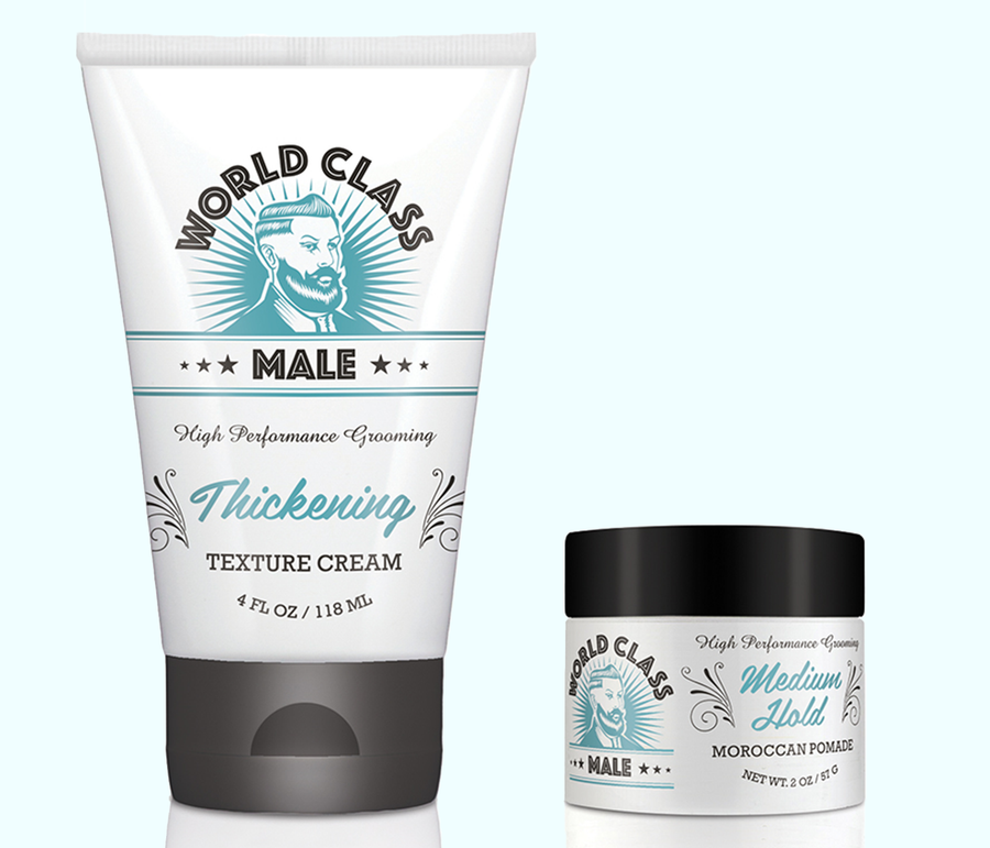 Thickening Cream + Medium Hold