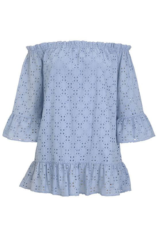 Pampelone Provence Tunic in Light Blue