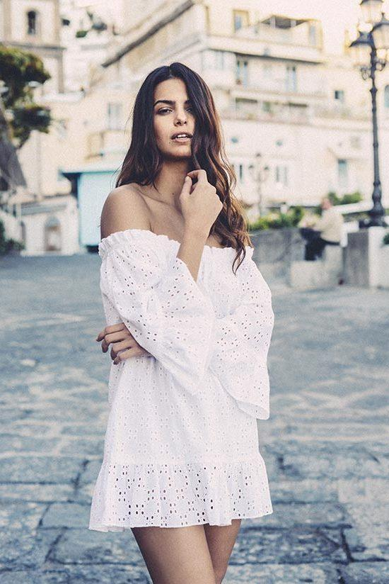 Pampelone Provence Tunic in White