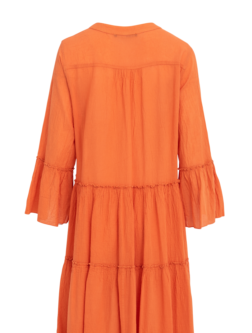 Devotion Midi Ella Orange Dress