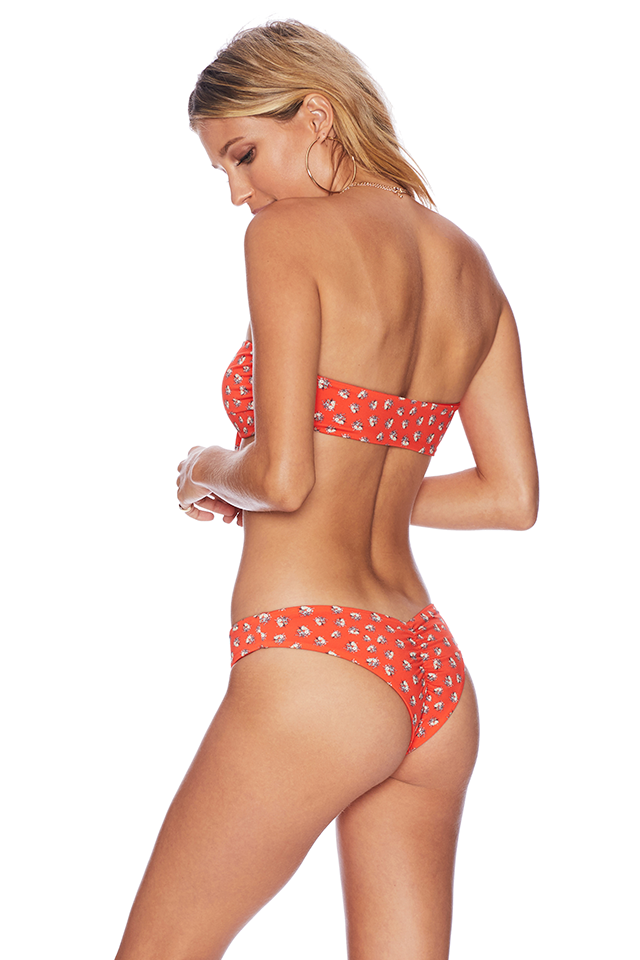 beach riot orange bikini