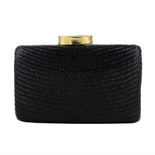 Kayu Black Tista Clutch