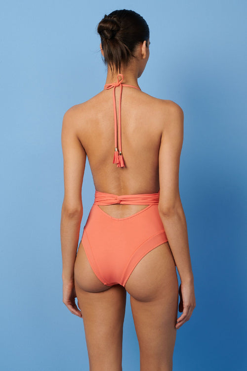 Paolita Marijani Wrap One Piece