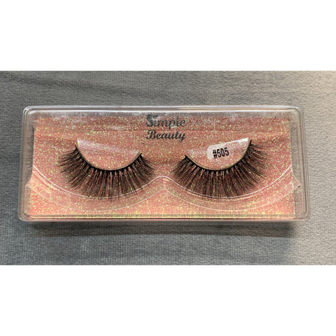 #505 Simple Beauty 3D Lashes