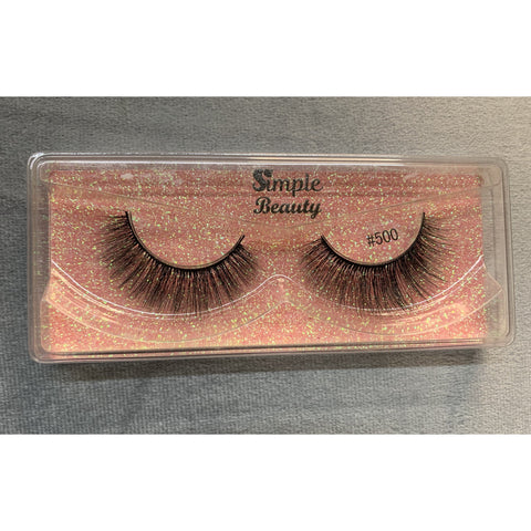 #500 Simple Beauty 3D Lashes