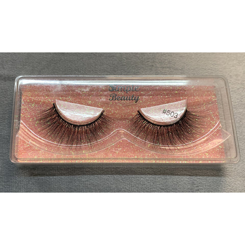 #503 Simple Beauty 3D Lashes