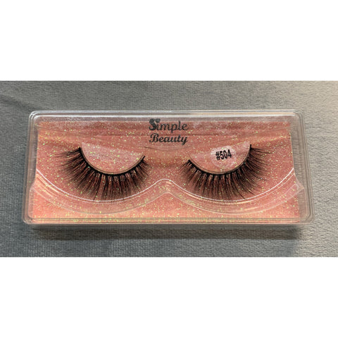 #504 Simple Beauty 3D Lashes