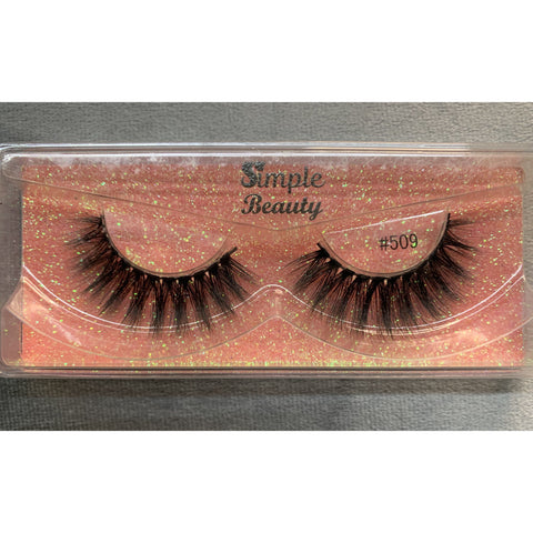 #509 Simple Beauty 3D Lashes