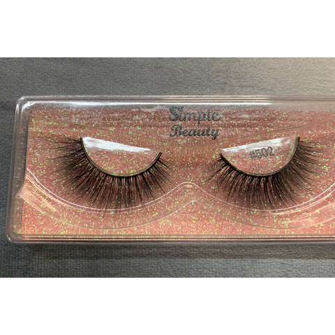 #502 Simple Beauty 3D Lashes