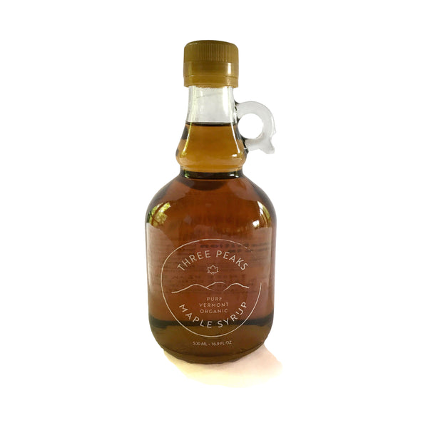 Three Peaks Maple Syrup - 16.9 oz. - Free Shipping
