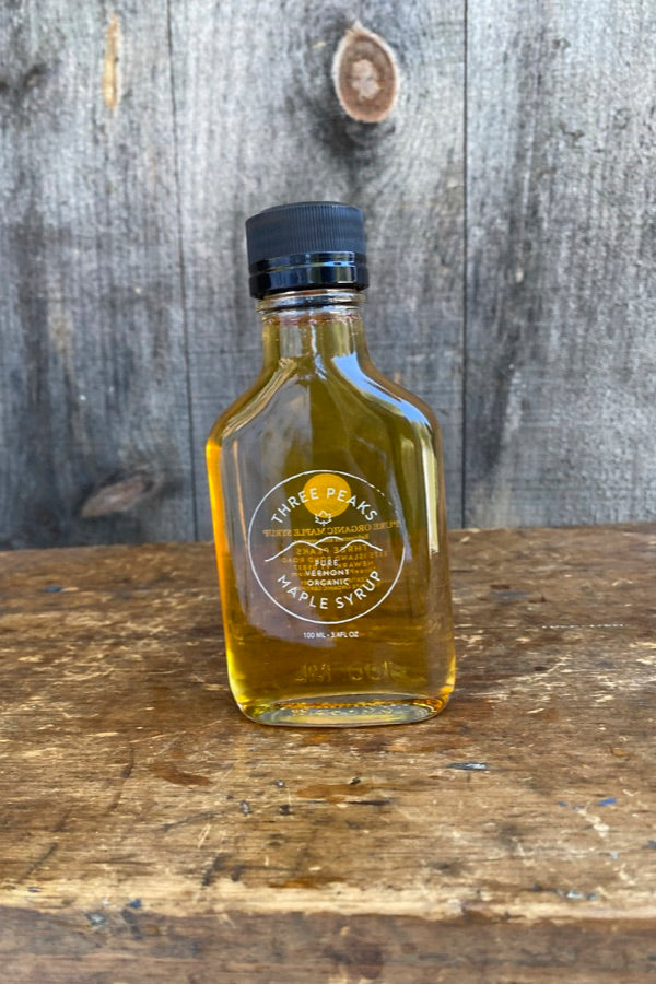 Three Peaks Maple Syrup - 3.4 oz. - Free Shipping